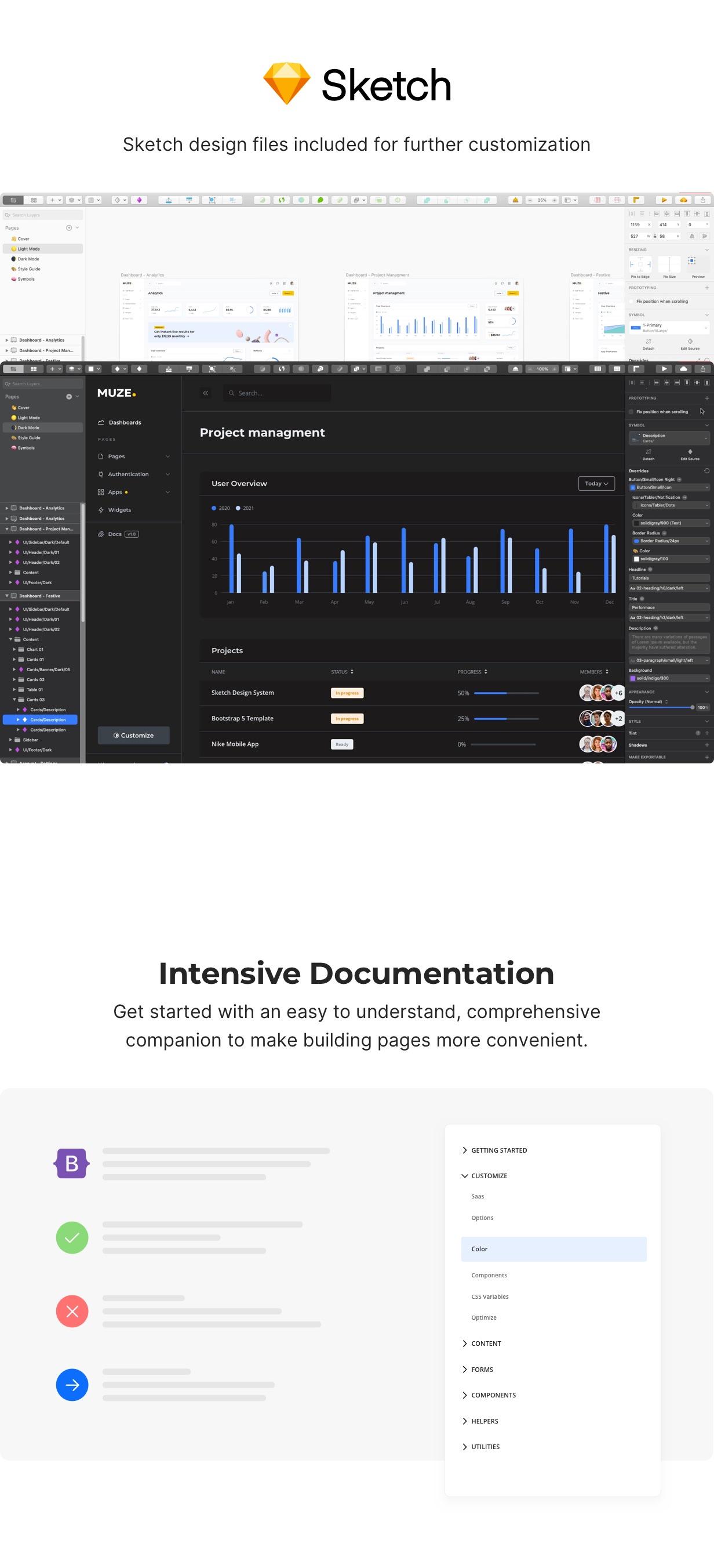 Muze - Bootstrap 5 HTML Admin Dashboard Template - 5