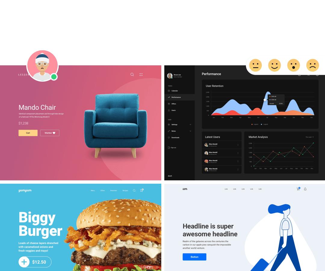 Figma Web Ui Kit Online, Fabrx Web Design System