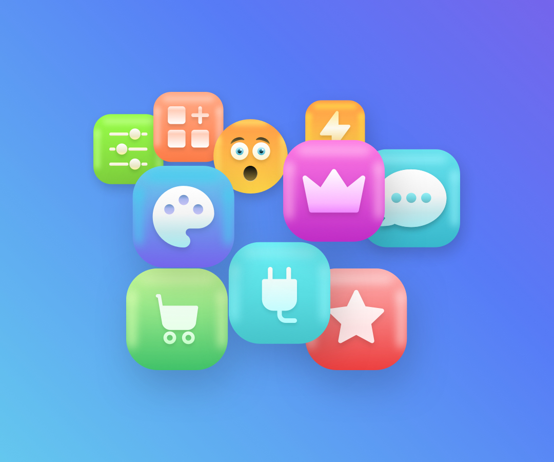 Fluff – Free 3D Icons