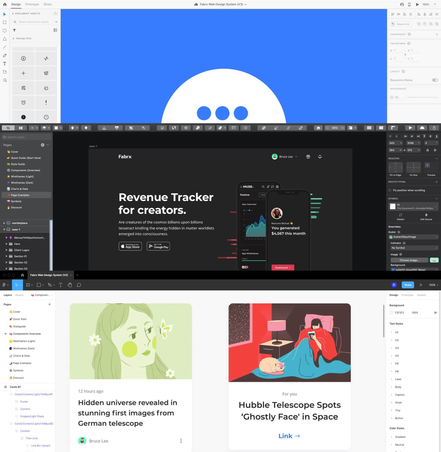 Fabrx Web Design System